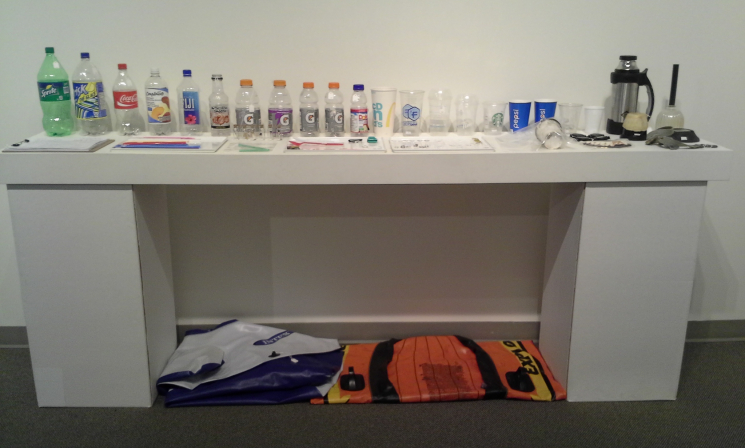 Unnatural History Collection, drink containers + dinghies