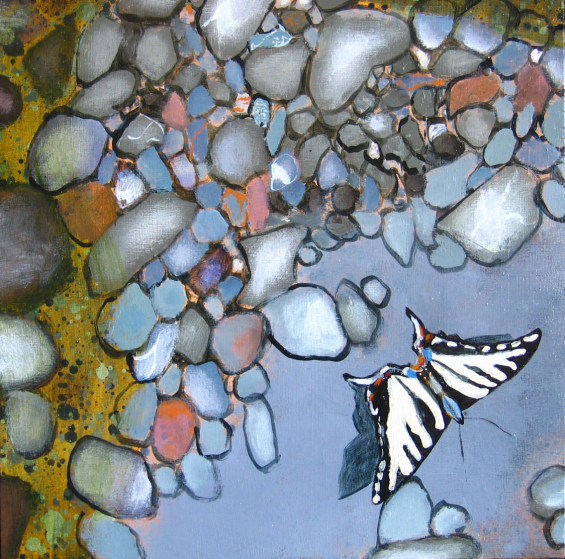 Up the Creek - detail (swallowtail)