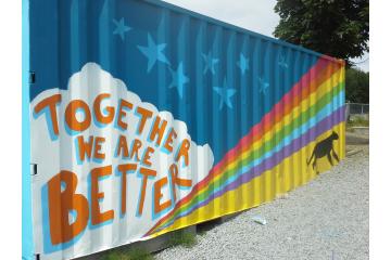 Kanaka Creek Elementary School collaborative murals