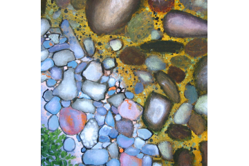 Up the Creek - detail (rocks)