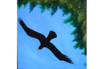 Up the Creek - detail (eagle)